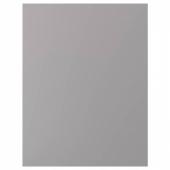 БУДБИН Накладная панель, серый, 62x80 см