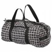 КНЭЛЛА Спортивная сумка,черный,белый