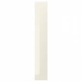 ВОКСТОРП Накладная панель, глянцевый светло-бежевый, 39x240 см