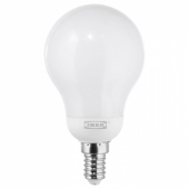 ЛЕДАРЕ Светодиод E14 600 лм,регулируемая яркость,шарообразный молочный
