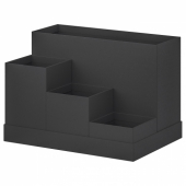 ТЬЕНА Подставка д/канцелярских принадлежн, черный, 18x17 см