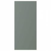 БОДАРП Накладная панель, серо-зеленый, 39x86 см