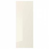 ВОКСТОРП Накладная панель, глянцевый светло-бежевый, 39x106 см