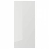 РИНГУЛЬТ Накладная панель, глянцевый светло-серый, 39x86 см